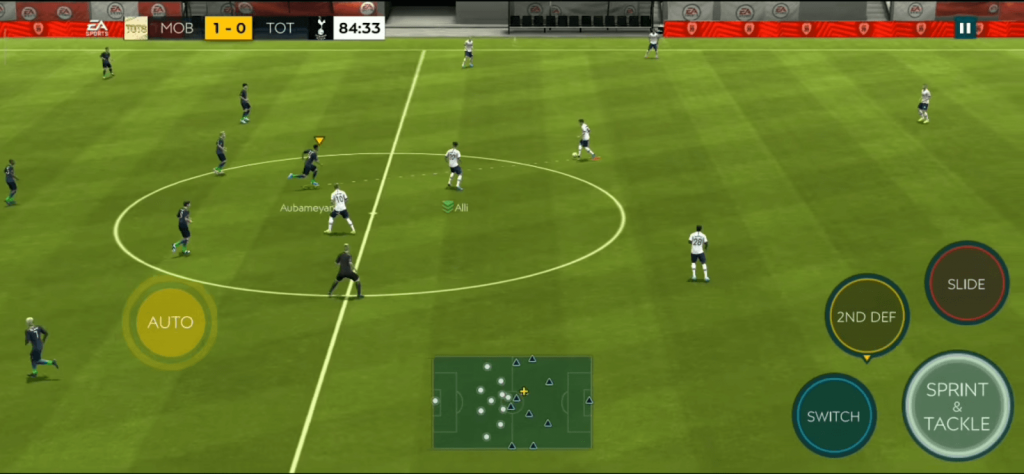 fifa soccer game play