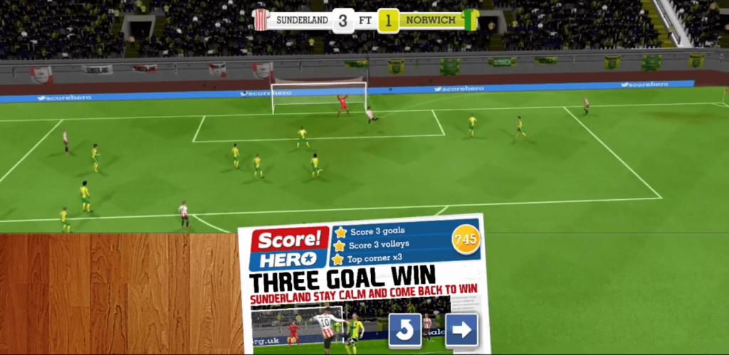 score hero goals